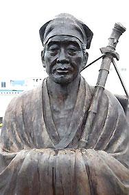 Памятник Мацуо Басё